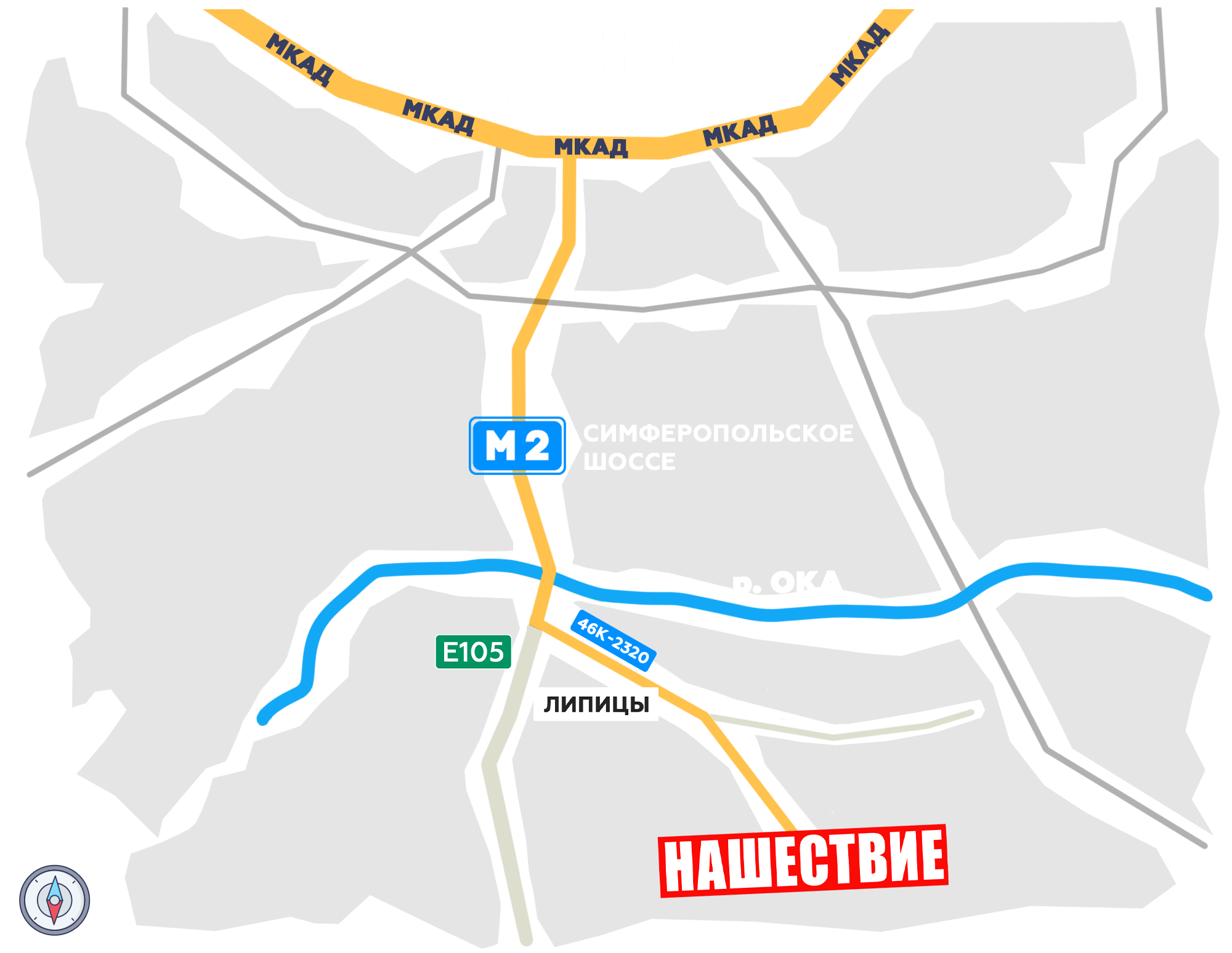 Карта проезда